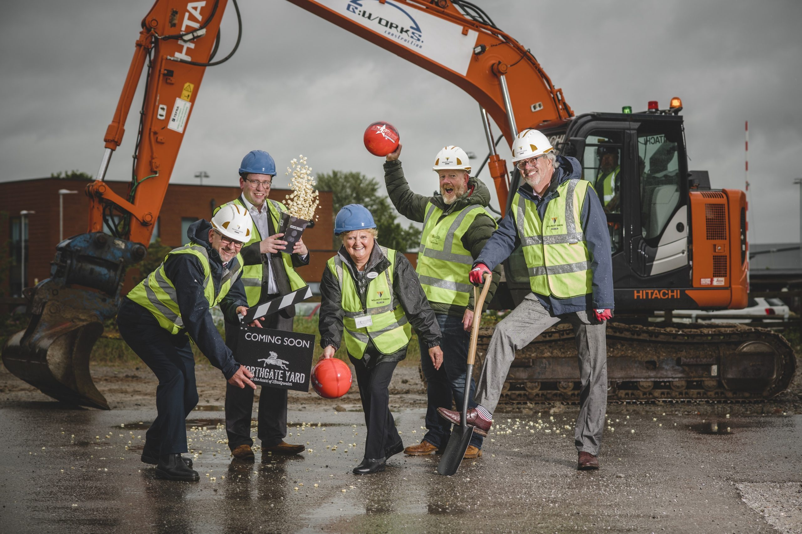 WORK BEGINS ON £16M ENTERTAINMENT AND DINING DEVELOPMENT IN THE HEART OF BRIDGWATER